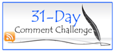 31 Day Comment Challenge
