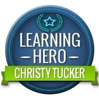 Learning Hero Christy Tucker