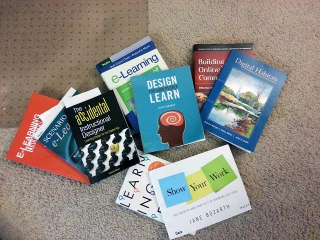 12+ Books for Instructional Designers