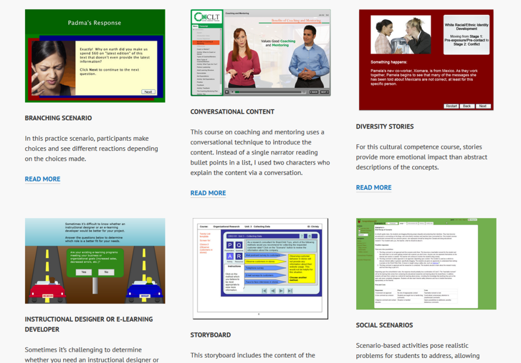 instructional design for online learning