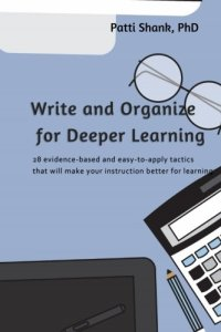 Cover of Write and Organize for Deeper Learning