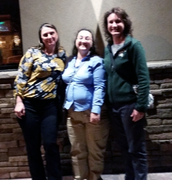 Tammy Knoll-Anderson, me, and Dawn Tedesco