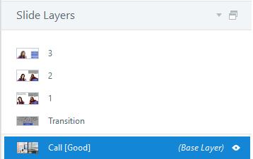 A base layer plus 4 layers